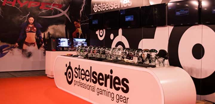 Booth Steelseries di DreamExpo