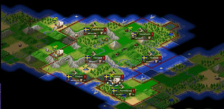 Sebagai contoh, Age of Empires yang terbit pada tahun 1997 menggunakan sebuah fitur yang bernama ¬fog of war, dimana setiap unit yang berdiri di area yang lebih tinggi akan mempunyai jarak pandang yang lebih besar dibanding unit yang berdiri di tempat yang lebih rendah.