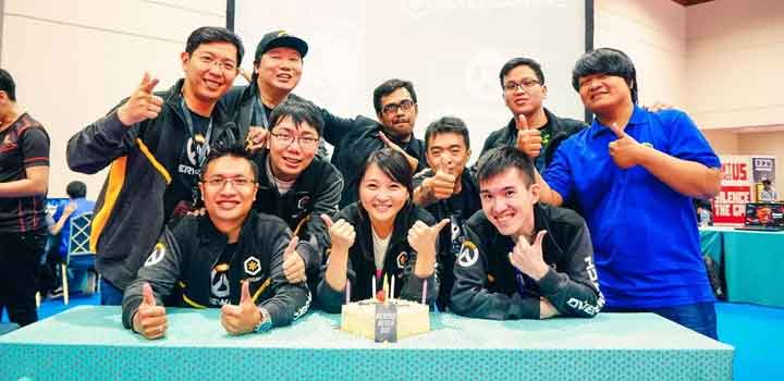1st Anniversary Blizzgamers Indonesia & Colony Overwatch Tournament