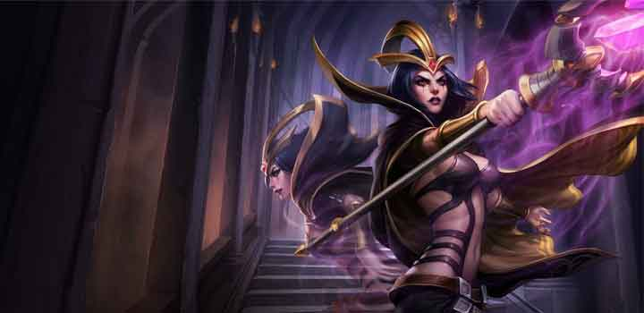 Champion LeBlanc via League of Legends