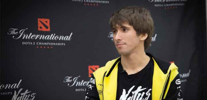 Dendi di The International 2016 via Navi.gg