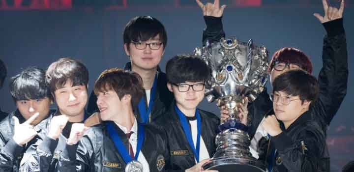 Champion LoL World Championship 2016 via Yahoo! Sports