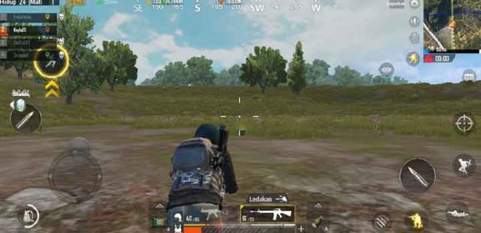 PUBG Mobile Musuh Knocked Down