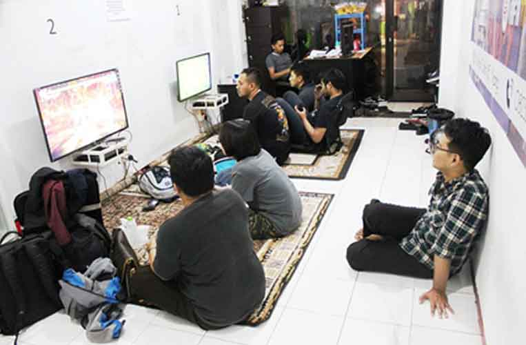 "Suasana lomba 2nd KMPT CUP Tekken 7 ""AWAKEN YOUR WARRIOR"""