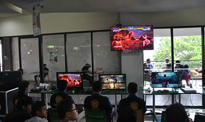 "Suasana lomba 5th KMPT CUP Tekken 7 ""SHOW ME WHAT YOU'VE GOT!"""