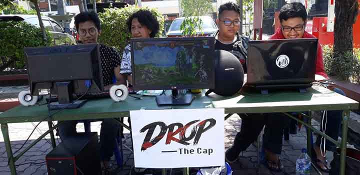 Drop The Cap Open booth di JapaniVersal UNTAG