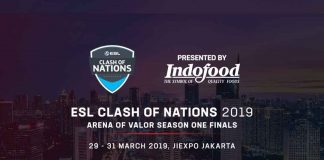 ESL Clash of Nations – Arena of Valor