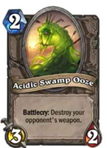 Acidic Swamp Ooze | Hearthstone