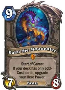 Baku the Mooneater | Hearthstone