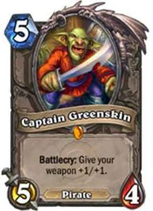 Captain Greenskin | Hearthstone