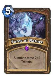 force of nature | Hearthstone