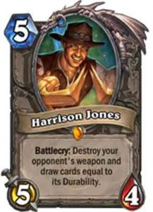 Harrison Jones | Hearthstone
