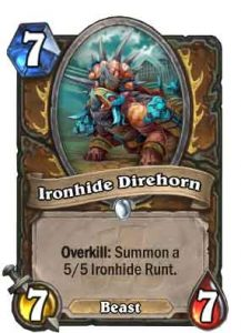 Ironhide Direhorn | Hearthstone