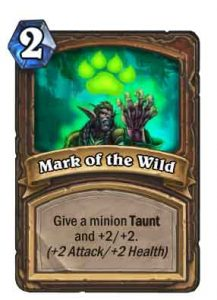 Mark of the Wild | Hearthstone