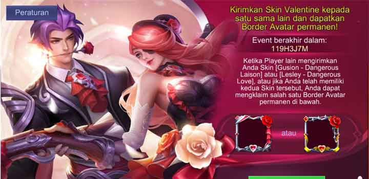 Mobile Legends Event Valentine