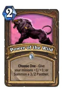 Power of the Wild | Hearthstone