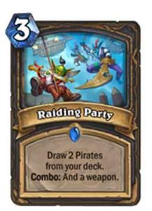 Raiding Party | Hearthstone
