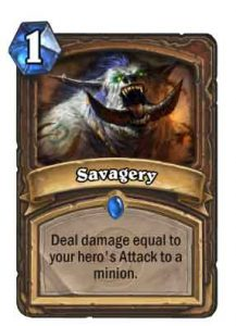 Savagery | Hearthstone