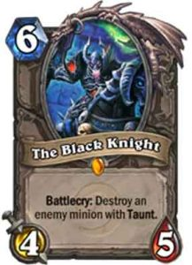 The Black Knight | Hearthstone