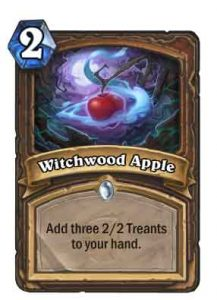 witchwood apple | Hearthstone
