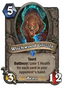 Witchwood Grizzly | Hearthstone