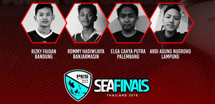 Wakil Indonesia PES SEA Finals 2019