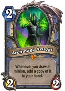 Archmage Arugal | Hearthstone