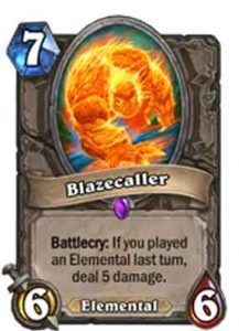 Blazecaller | Hearthstone | Rastakhan's Rumble