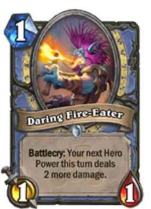 Daring Fire-Eater | Hearthstone