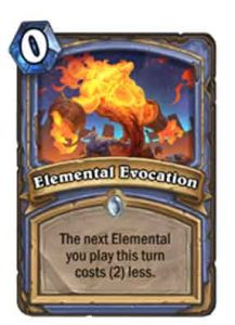 Elemental Evocation | Hearthstone