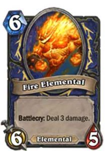 Fire Elemental | Hearthstone | Rastakhan's Rumble