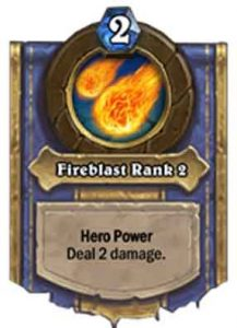 Fireblast Rank 2 | Hearthstone