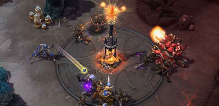 gameplay Heroes of the Storm (via Blizzard)