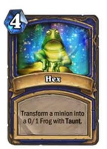 Hex | Hearthstone | Rastakhan's Rumble