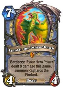 Jan'alai, the Dragonhawk | Hearthstone