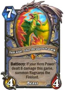 Jan'alai, the Dragonhawk | Hearthstone | Rastakhan's Rumble