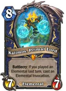 Kalimos | Hearthstone | Rastakhan's Rumble