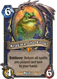 Krag'wa, The Frog | Hearthstone | Rastakhan's Rumble