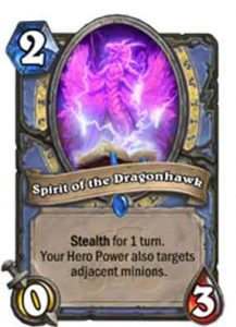 Spirit of the Dragonhawk | Hearthstone