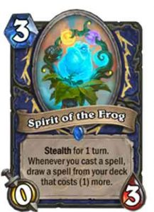 Spirit of the Frog | Hearthstone | Rastakhan's Rumble
