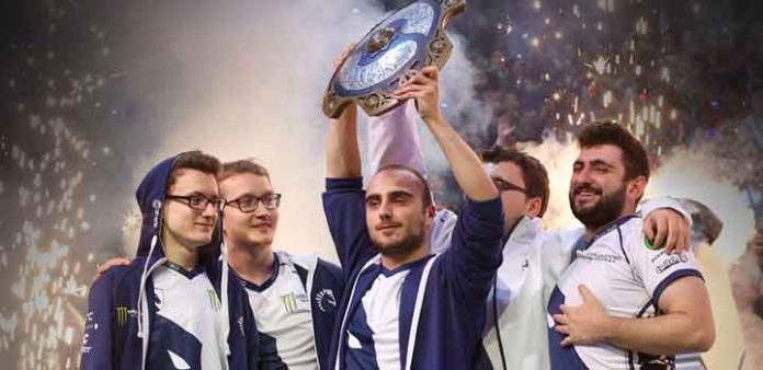Champion The International 2017 via Dota 2
