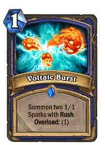 Voltaic Burst | Hearthstone | Rastakhan's Rumble