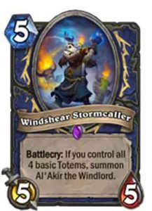 Windshear Stormcaller | Hearthstone | Rastakhan's Rumble