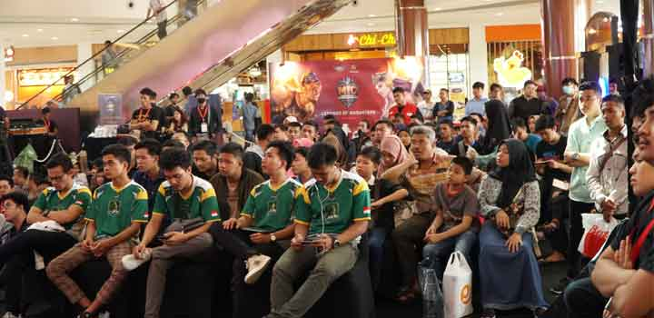 Pengunjung Mobile Legends Intercity Championship