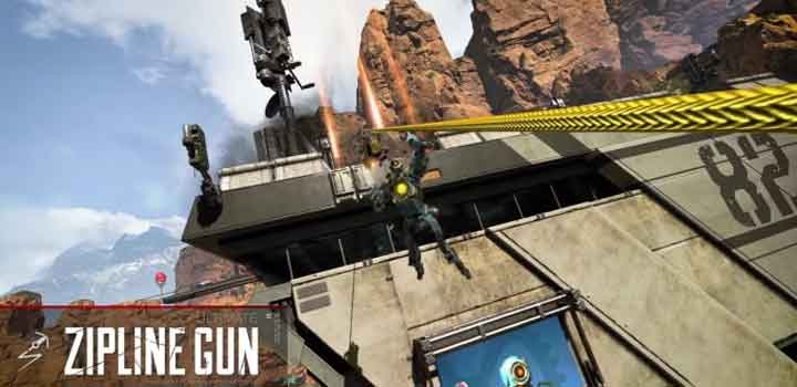 Apex Legends Zipline Gun