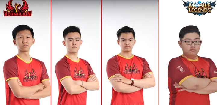 Squad Mobile Legends Vermilion Esports
