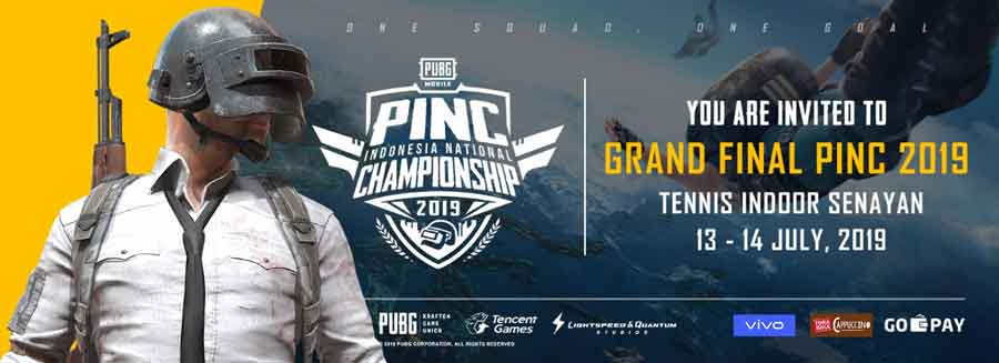 PINC 2019 Invitation | PUBG Mobile