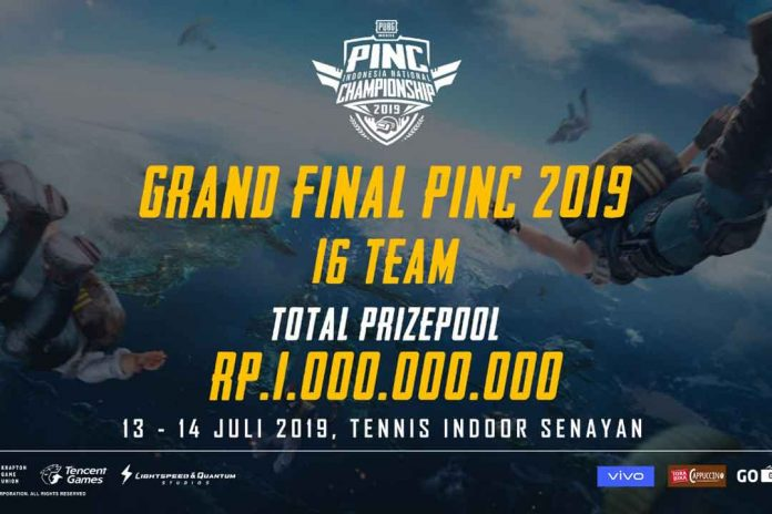 PUBG Mobile Indonesia National Championship 2019 Memasuki Babak Grand Final