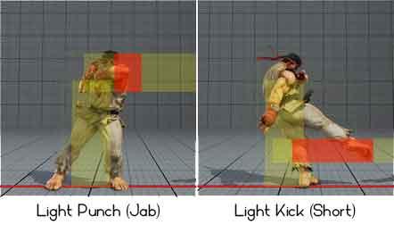 Light punch, light kick