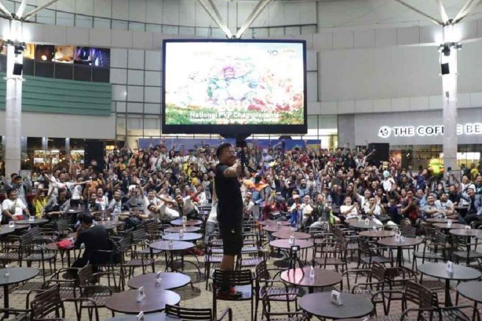 Brandon Tan di 2019 National PVP Championship Rainbow Cup di Summarecon Mall Serpong